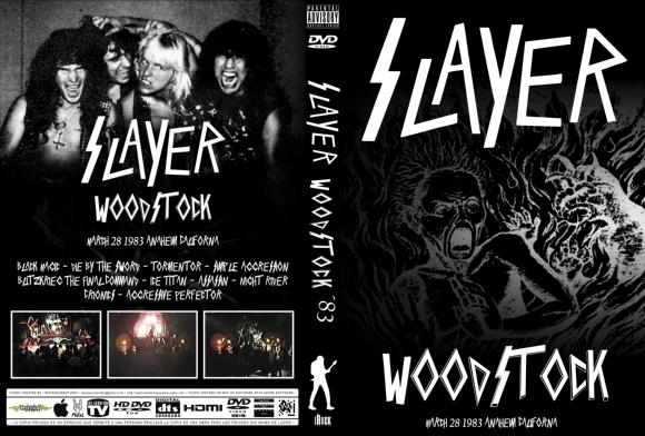 Slayer – Live in Woodstock, USA 1983 DVD