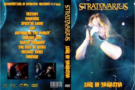 Stratovarius – Live at Tavastia, Finland 1999 DVD