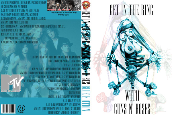 Guns N' Roses – Get In The Ring Tv Clips (5 Dvds)