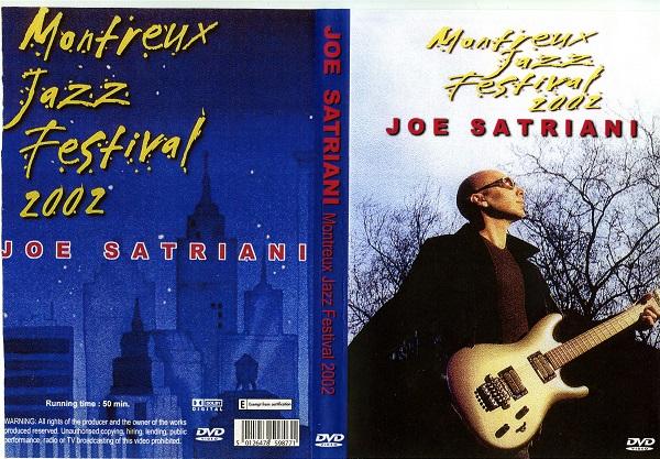 Joe Satriani – Live at Montreux Jazz Festival 2002 DVD