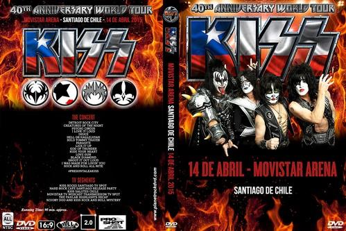 Kiss – Live Santiago,Chile 2015 DVD