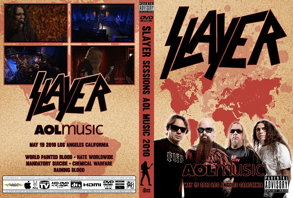Slayer - Live Sessions AOL Music 2010 DVD