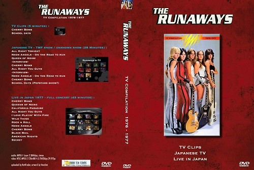 The Runaways – TV Compilation 1976-1977 DVD