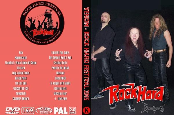 Venom – Live Rock Hard 2015 DVD