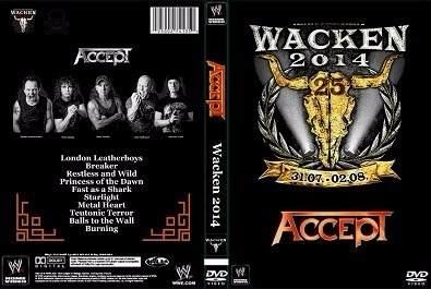 Accept – Live Wacken Open Air 2014 DVD