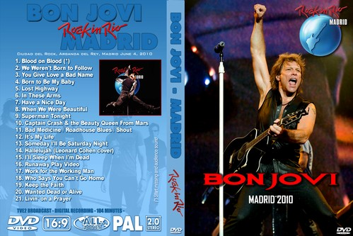 Bon Jovi – Live Rock In Rio Madrid 2010 DVD