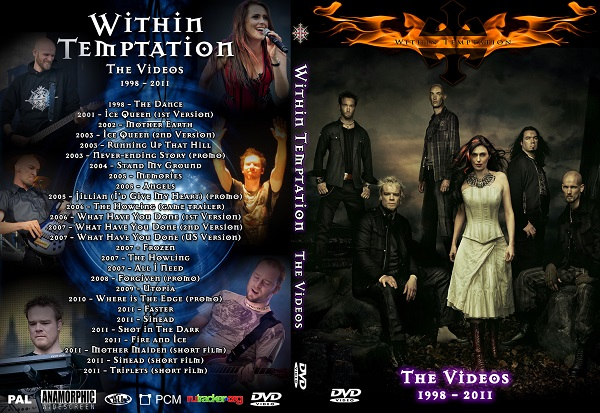 Within Temptation – Video Collection 2013 DVD