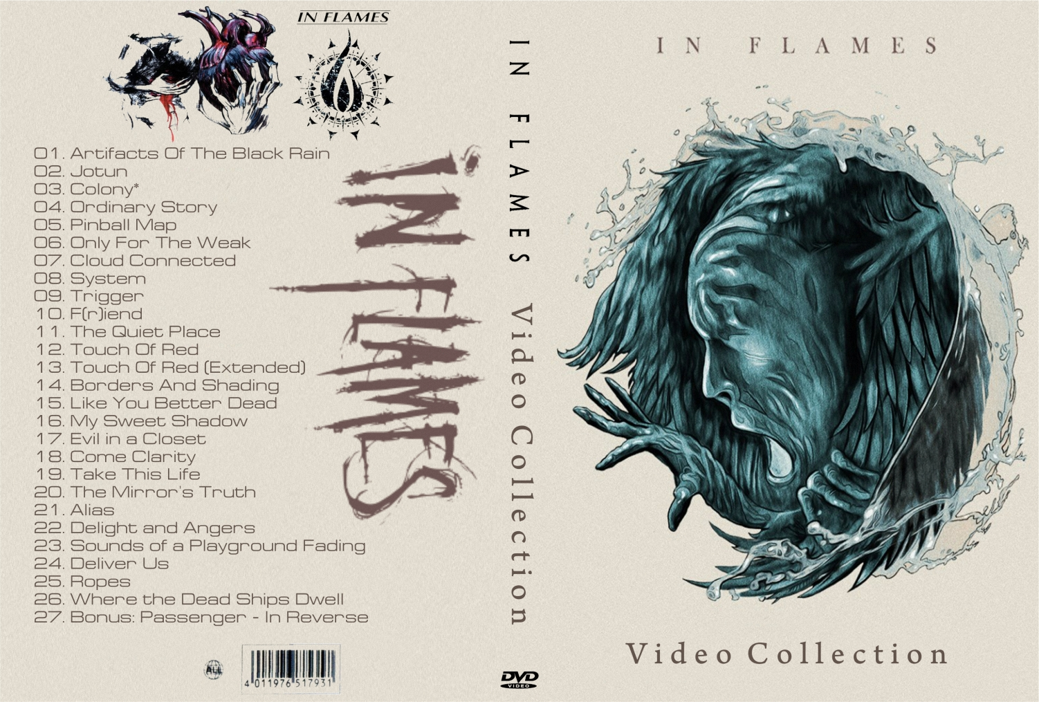In Flames – Video Collection 2014 DVD