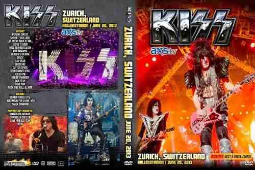 Kiss – Live Zurich, Switzerland 2013 DVD