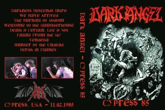 Dark Angel – Live Anaheim,Cypress,CA 1985 DVD