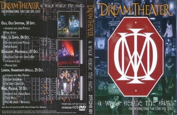 Dream Theater - A Walk Beside the Band DVD