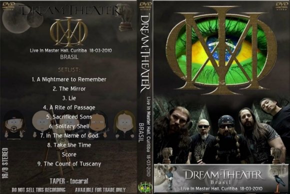 Dream Theater – Live In Master Hall, Curitiba 2010 DVD