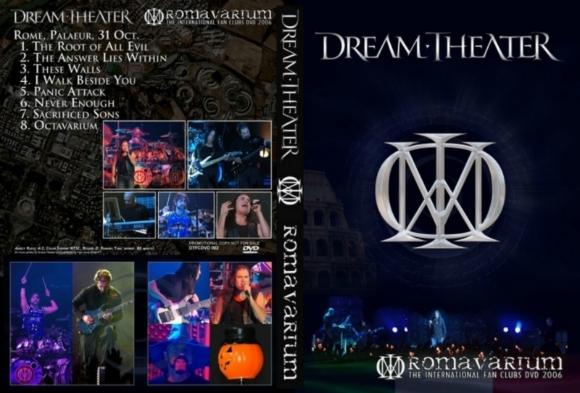 Dream Theater – Romavarium 2006 DVD
