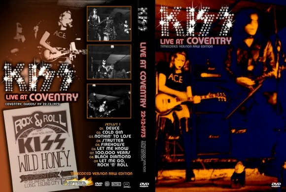 Kiss – Live At The Coventry 1973 DVD