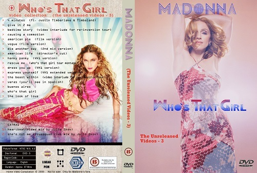 Madonna – The Unreleased Videos (3 DVDS)