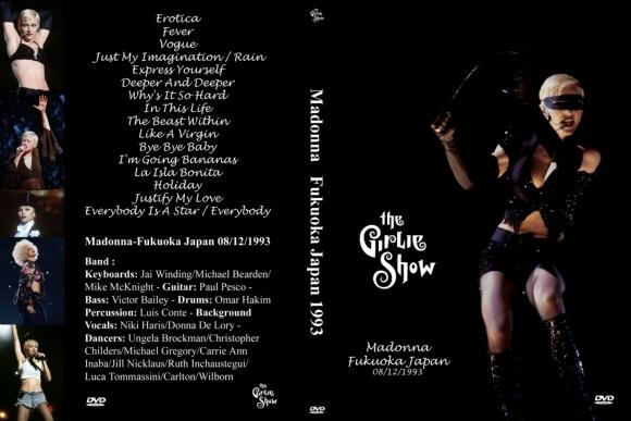 Madonna – The Girlie Show, Live Japan 1993 DVD