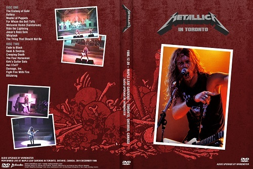 Metallica - Live Toronto,Canada 1986 (2Dvds)