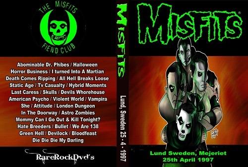 Misfits – Live Lund, Sweden1997 DVD