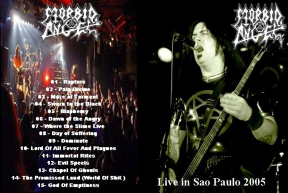 Morbid Angel – Live Sao Paulo, Brazil 2005 DVD