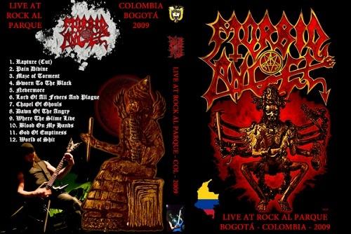 Morbid Angel - Rock Al Parque 2009 DVD