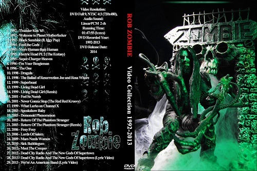Rob Zombie – Video Collection 1992 - 2014 DVD
