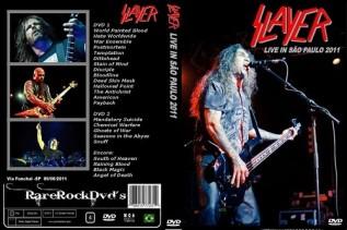 Slayer – Live Sao Paulo,Brazil 2011 ( 2 DVDS )