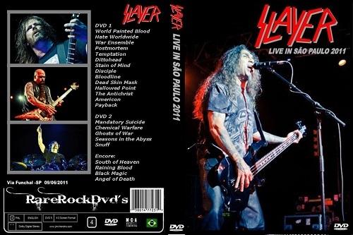 Slayer - Live Sao Paulo,Brazil 2011 ( 2 DVDS )