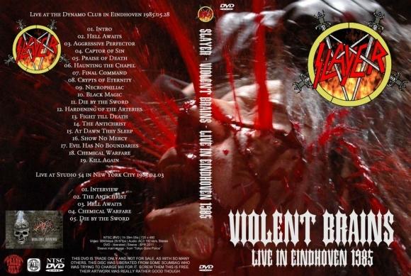 Slayer – Violent Brains 1985 DVD