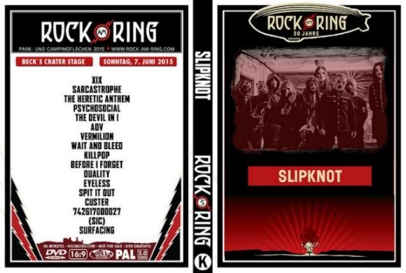 Slipknot – Live Rock am Ring Festival 2015 DVD