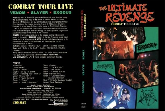 The Ultimate Revenge 1985 (Exodus/Slayer/Venom) DVD