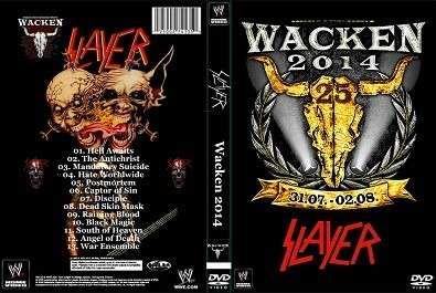 Slayer – Live Wacken Open Air 2014 DVD