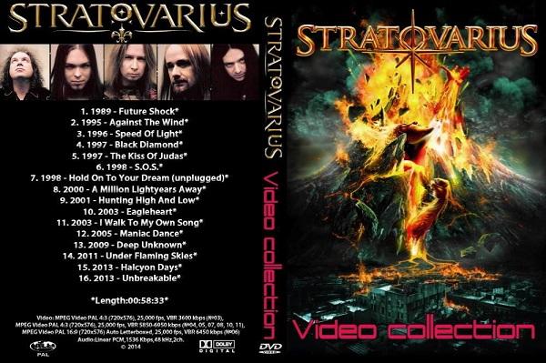 Stratovarius – Video Collection 2014 DVD