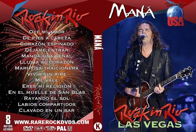 Maná – Live Rock in Rio USA 2015 DVD