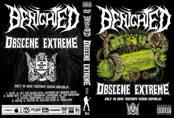 Benighted – Live  Obscene Extreme 2012 DVD