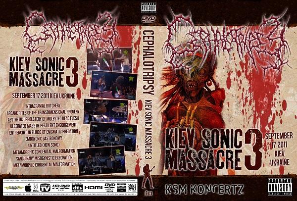 Cephalotripsy – Live Kiev Sonic Massacre 2011 DVD