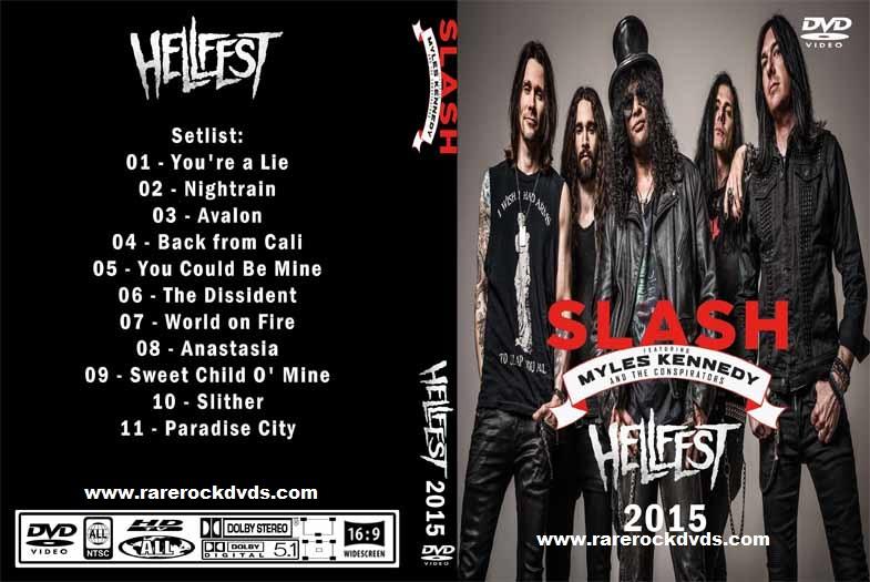 Slash – Live Hellfest,Clisson, France 2015 DVD