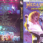 DVD Cover – Megadeth – Live in chile 2010