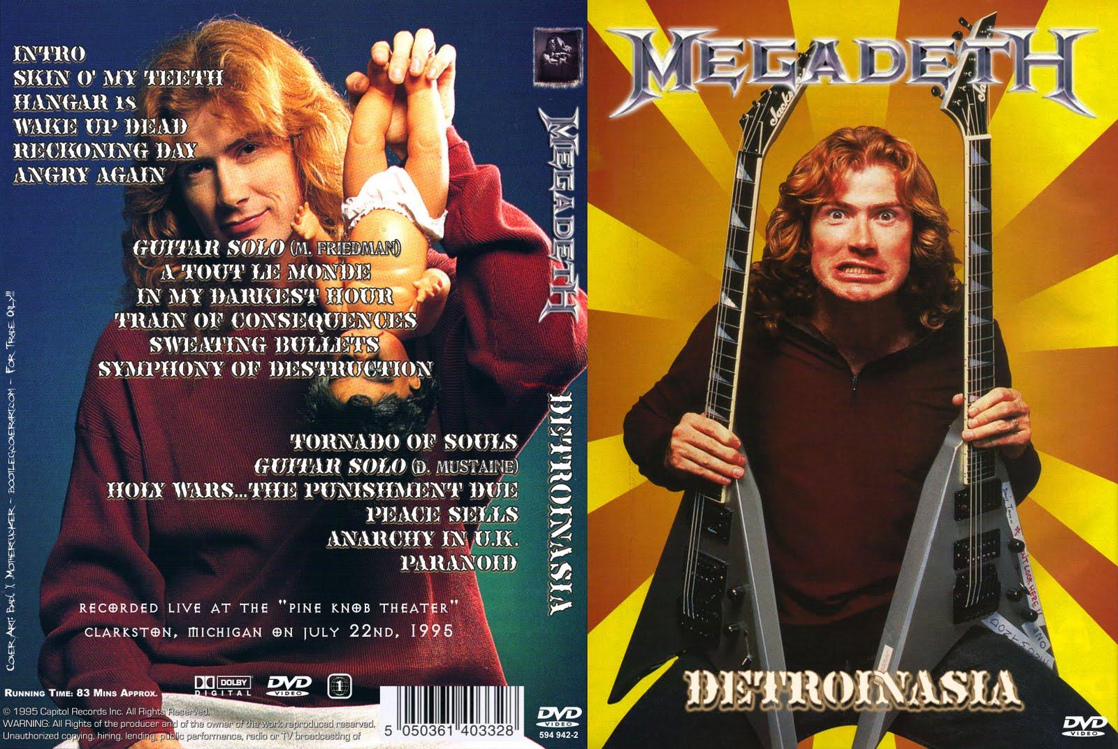 Megadeth – Live Clarkston,MI 1995 DVD