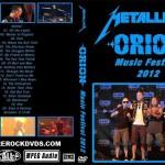 DVD Cover Metallica – Orion Music Festival 2012 – The Black Album