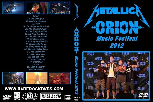 Metallica –  Live At Orion Festival Atlantic City 2012