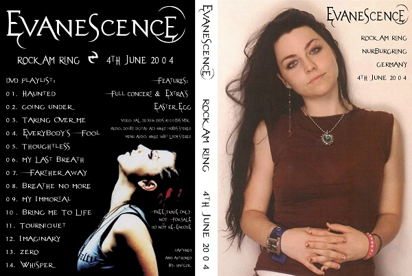 Evanescence – Live Rock Am Ring 2004 DVD