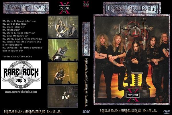 Iron Maiden – Headbangers Ball, X Factour 1995 DVD