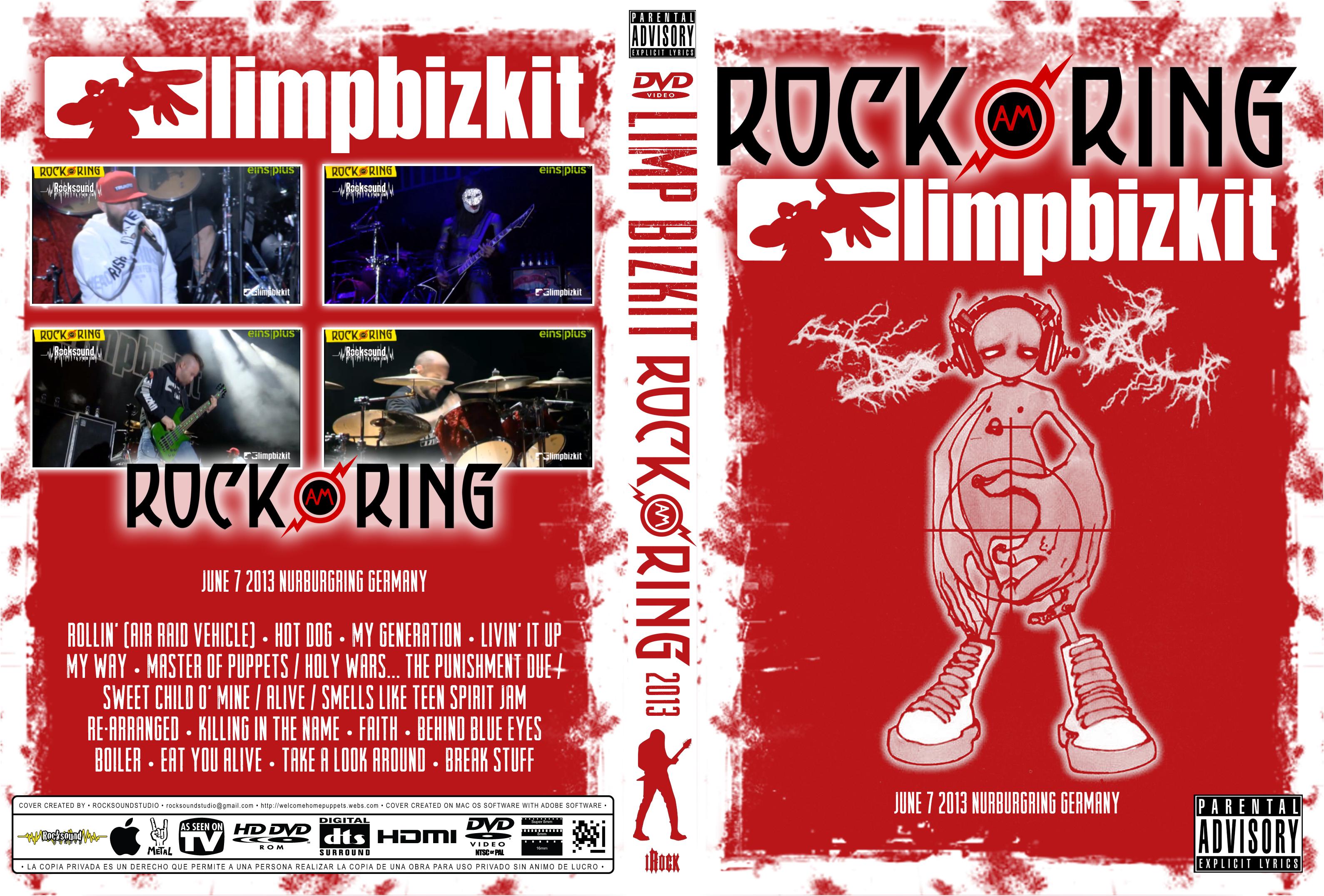 Limp Bizkit – Live Rock Am Ring 2013 DVD