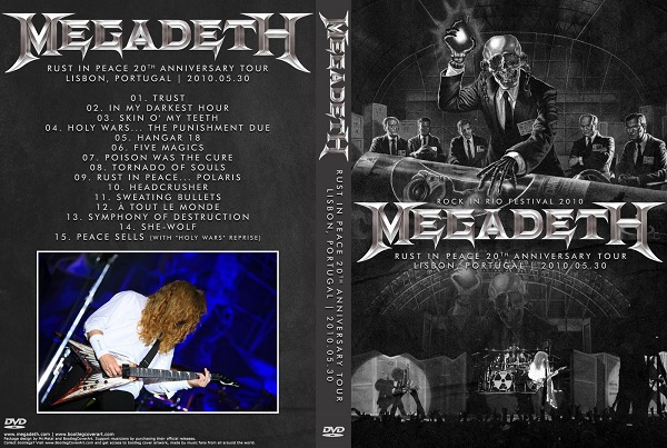 Megadeth – Live Rock in Rio Lisboa 2010 DVD