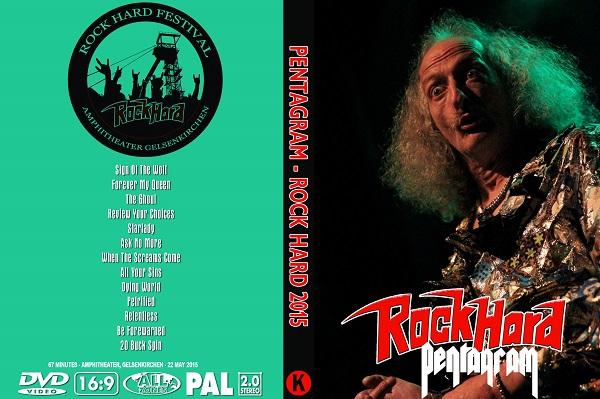Pentagram – Live Rock Hard Festival 2015 DVD