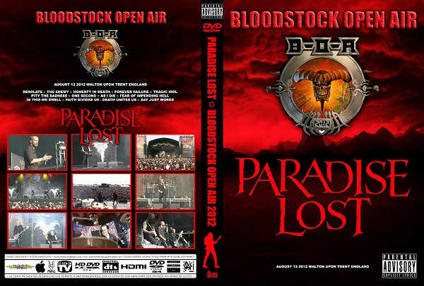Paradise Lost - Live Bloodstock 2012 DVD