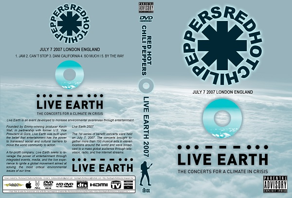 Red Hot Chili Peppers – Live Earth 2007 DVD
