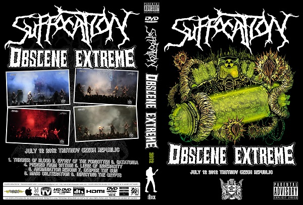 Suffocation – Live Obscene Extreme 2012 DVD