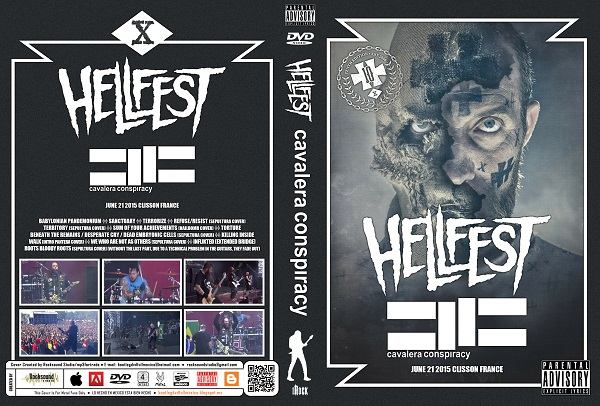 Cavalera Conspiracy - Live Hellfest 2015 DVD