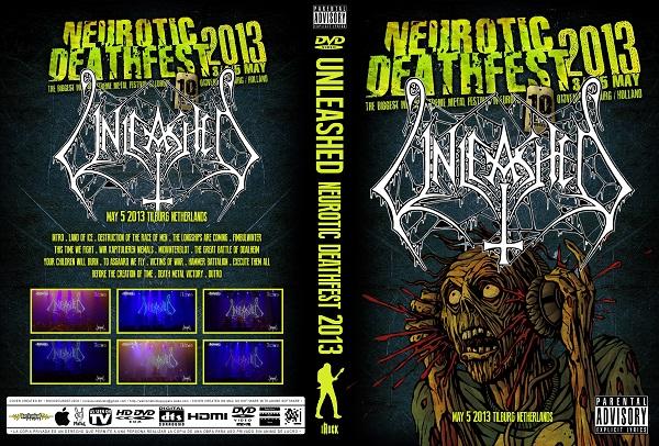 Unleashed – Live Neurotic Deathfest 2013 DVD